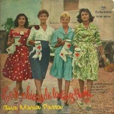 Discos de vinilo: ANA MARIA PARRA EP SELLO COLUMBIA EDITADO EN ESPAÑA AÑO 1958. Lote 18872639