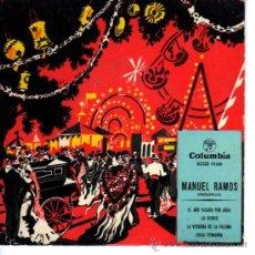 Discos de vinilo: DISCO MANUEL RAMOS ORGANILLO. Lote 18875844