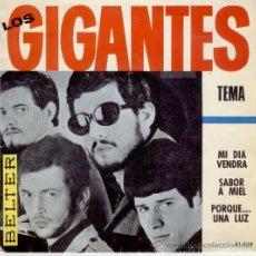 Discos de vinilo: LOS GIGANTES - TEMA - EP 1966. Lote 26289892
