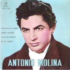 Discos de vinilo: ANTONIO MOLINA - ESTUDIANTINA DE MADRID ** EP ODEON 1962. Lote 18881652