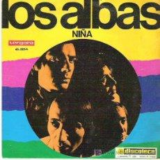 Discos de vinilo: LOS ALBAS - NIÑA / DAMS UNA FIESTA EN CASA ** VERGARA 1969. Lote 18881738