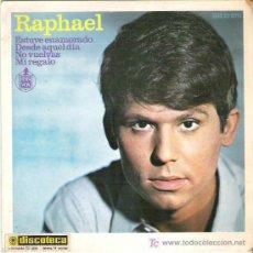 Discos de vinilo: RAPHAEL - ESTUVE ENAMORADO ** EP HISPAVOX 1965. Lote 18881906