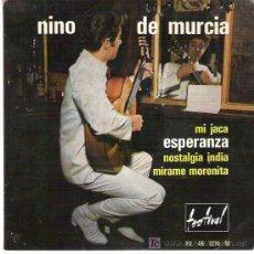 Discos de vinilo: NINO DE MURCIA - ESPERANZA ** EP FESTIVAL FRANCIA. Lote 18905314
