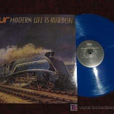 Discos de vinilo: BLUR - MODERN LIFE IS RUBBISH. Lote 26990766