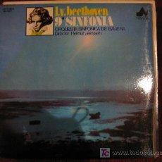 Discos de vinilo: L.V. BEETHOVEN - 9ª SINFONIA (ORQUESTA SINFONICA DE BAVIERA) DIR. HELMUT JENSSEN. Lote 27079999