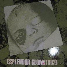 Discos de vinilo: ESPLENDOR GEOMETRICO (BOX INCLUYE 3 VINILOS Y 1 SINGLE) EDICION NUMERADA Nº 212 . Lote 27434783