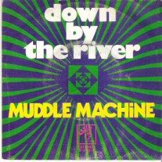Discos de vinilo: MUDDLE MACHINE - DOWN THE RIVER ** RCA ESPAÑA 1972. Lote 18952069