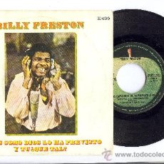 Discos de vinilo: BILLY PRESTON GEORGE HARRISON BEATLES PRODUCCION SINGLE ORIGINAL ESPAÑA APPLE 1969. Lote 26311143