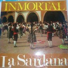 Discos de vinilo: DISCO-INMORTAL-LA SARDANA (EKIPO). Lote 24464520