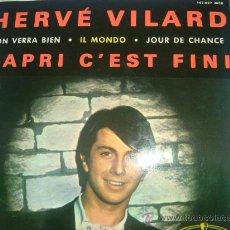 Discos de vinilo: DISCO-CAPRI C´EST FINI-HERVÉ VILARD. Lote 26311870