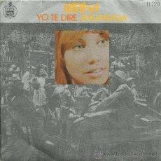 Discos de vinilo: KARINA SINGLE SELLO HISPAVOX EDITADO EN ESPAÑA AÑO 1971. Lote 18969210