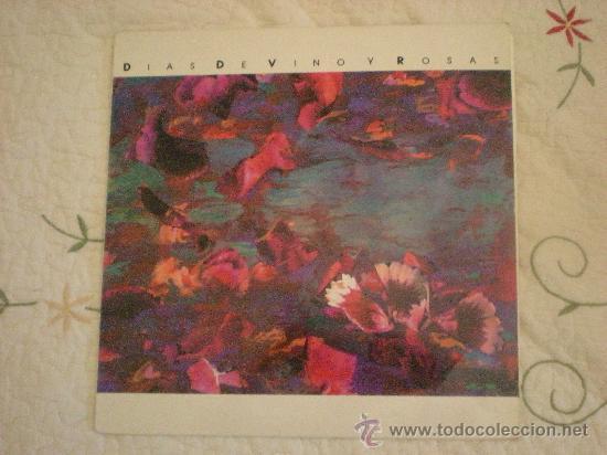 AMARAL.DIAS DE VINO Y ROSAS: PRIMER Y UNICO LP DEL GRUPO DONDE JUAN MILITÓ ANTGES DE EN AMARAL (Música - Discos - LP Vinilo - Rock & Roll)