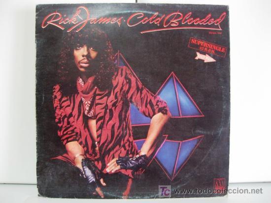 RICK JAMES - COLD BLOODED - MAXI MOTOWN 1983 (FUNK/SOUL/DISCO) BPY (Música - Discos de Vinilo - Maxi Singles - Funk, Soul y Black Music)
