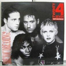 Discos de vinilo: TWENTY 4 SEVEN - ARE YOU DREAMING? - MAXI BLANCO Y NEGRO 1990 (EURO HOUSE) BPY. Lote 19464519
