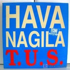 Discos de vinilo: TECHNO UNIVERSAL SOUND T.U.S. - HAVA NAGILA - MAXI BLANCO Y NEGRO 1993 (TRANCE, EURO HOUSE) BPY. Lote 26467841