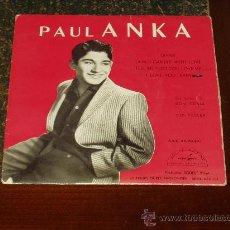 Discos de vinilo: PAUL ANKA EP DIANA+3. Lote 27278679