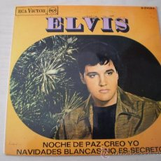 Discos de vinilo: ELVIS PRESLEY. NOCHE DE PAZ. ED. ESPAÑOLA DE 1967. MUY BUENA CONSERVACION!!!!!!!!!!!!. Lote 27620470