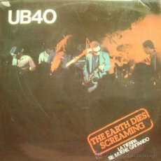 Discos de vinilo: UB40-THE EARTH DIES SCREAMING MAXI SINGLE VINILO 1981 PROMOCIONAL SPAIN. Lote 18992501