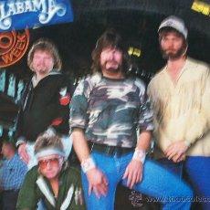 Discos de vinilo: ALABAMA,40 HOUR WEEK DEL 85 EDICION USA. Lote 297146193