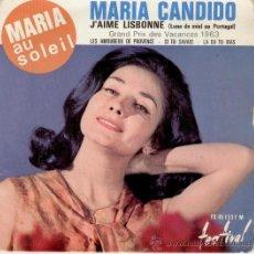 Discos de vinilo: MARIA CANDIDO - MARIA AU SOLEIL - EP. Lote 26484777