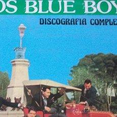 Discos de vinilo: LOS BLUE BOYS,DISCOGRAFIA COMPLETA,HISTORIA DE LA MUSICA POP ESPAÑOLA VOL 89. Lote 19026324
