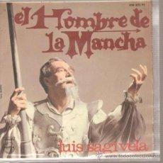 Discos de vinilo: EP LUIS SAGIVELA - EL HOMBRE DE LA MANCHA. Lote 24256120