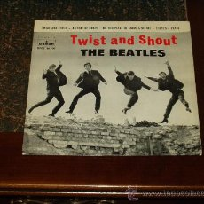 Discos de vinilo: BEATLES EP TWIST AND SHOUT+3. Lote 26330739