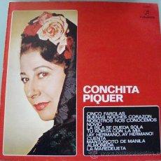 Discos de vinilo: CONCHITA PIQUER - LP COLUMBIA 1975. Lote 19068954