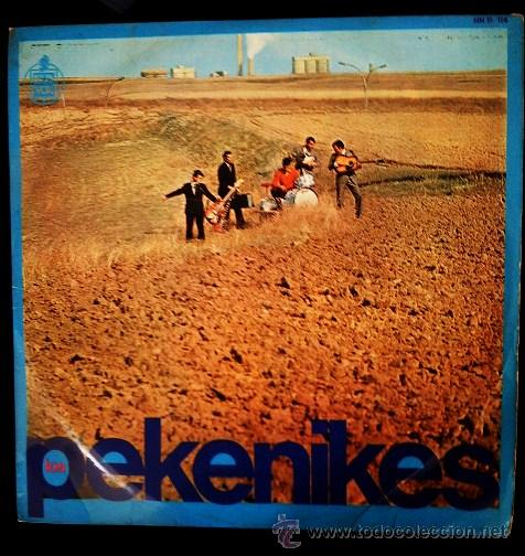 LP. LOS PEKENIKES.- LADY PEPA, HILO DE SEDA.... AÑO 1966.- (Música - Discos - LP Vinilo - Grupos Españoles 50 y 60)