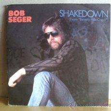 Discos de vinilo: BOB SEGER ---- SHAKEDOWN. Lote 19102034