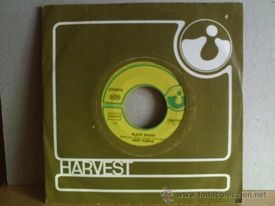 DEEP PURPLE --- BLACK NIGHT (Música - Discos - Singles Vinilo - Pop - Rock - Extranjero de los 70)