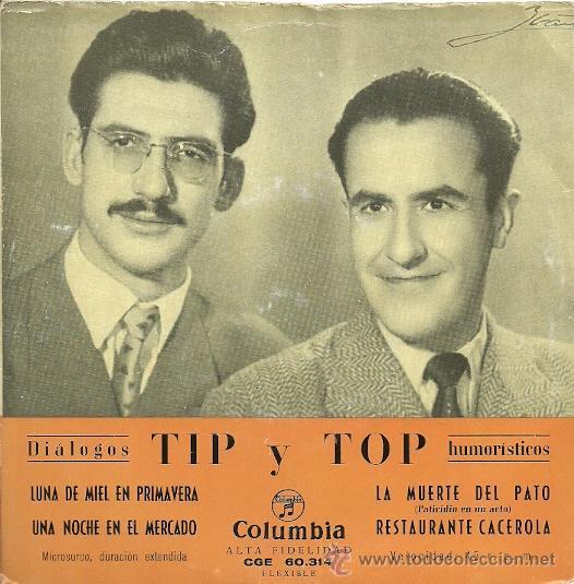 TYP Y TOP EP SELLO COLUMBIA EDITADO EN ESPAÑA AÑO 1956 (Música - Discos de Vinilo - EPs - Bandas Sonoras y Actores)