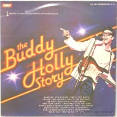 Discos de vinilo: THE BUDDY HOLLY STORY LP WARWICK RECORDS 1979. Lote 19138175