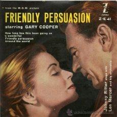 Discos de vinil: JOHNNY RITTER / LEN MERCER EP SELLO ZAFIRO EDITADO EN ESPAÑA AÑO 1958. Lote 19138672
