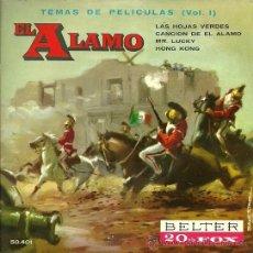 Discos de vinil: EP SELLO BELTER EDITADO EN ESPAÑA AÑO 1961 TEMAS DE PELICULAS VOL.1 . Lote 19138943