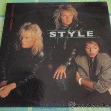 Discos de vinilo: STYLE ( DAYLIGHT ROBBERY ) 1987 - SWEDEN LP33 ALPHA RECORDS. Lote 19142105