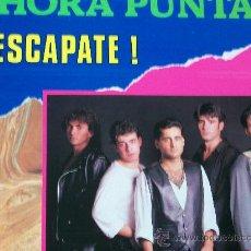 Discos de vinilo: HORA PUNTA,ESCAPATE ALBUN DEL 92. Lote 19155703