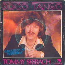 Discos de vinilo: TOMMY SEEBACH: DISCO TANGO + 1 (DINAMARCA 1979). Lote 19156134