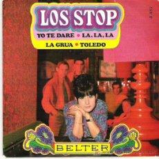 Discos de vinilo: LOS STOP - LA GRUA ** EP BELTER SPANISH FREAKBEAT ** 1968. Lote 19261717