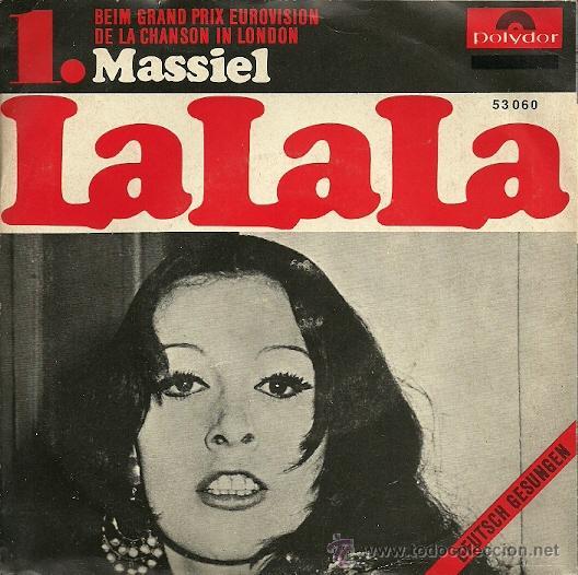 MASSIEL CANTA EN ALEMAN SINGLE SELLO POLYDOR AÑO 1968 EDITADO EN ALEMANIA DEL FESTIVAL DE EUROVISIÓN (Música - Discos - Singles Vinilo - Solistas Españoles de los 50 y 60)
