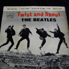 Discos de vinilo: THE BEATLES-TWIST AND SHOUT-EP 1963. Lote 26613733