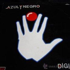 Discos de vinilo: AZUL Y NEGRO-DIGITAL. Lote 25963456