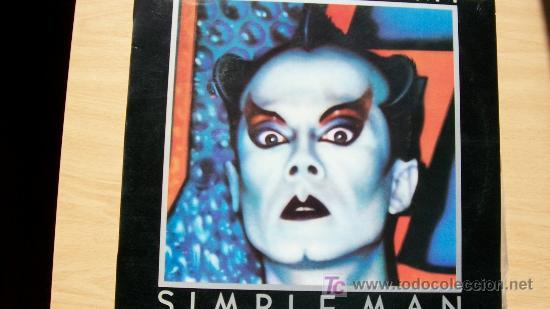 KLAUS NOMI-SIMPLE MAN-LP 1982-PROMOCIONAL- (Música - Discos - LP Vinilo - Pop - Rock - New Wave Extranjero de los 80)