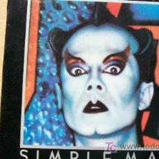 Discos de vinilo: KLAUS NOMI-SIMPLE MAN-LP 1982-PROMOCIONAL-. Lote 19188705