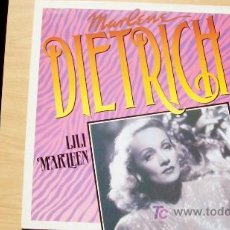 Discos de vinilo: MARLENE DIETRICH-LILI MARLEEN-LP-1982-. Lote 19189579