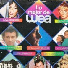 Discos de vinilo: LO MEJOR DE WEA-LP 1983-. Lote 19191645