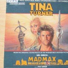 Discos de vinilo: TINA TURNER-MAD MAX-MAXI45RPM-1985-. Lote 19191981