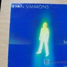 Discos de vinilo: RYAN SIMMONS-LUCKY GUY-MAXI45RPM-1985-. Lote 19192035