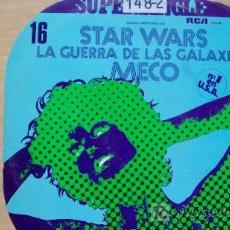 Discos de vinilo: MECO-STAR WARS-MAXI45RPM-. Lote 19193757