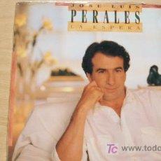 Discos de vinilo: JOSE LUIS PERALES-LA ESPERA-LP 1988-. Lote 19212767